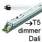 Balastos T5 dimmer Dali