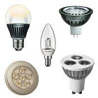lamparas y bombillas de leds