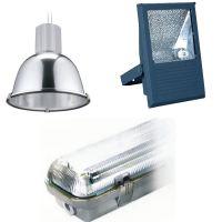 Luminarias y aparatos de luz. regletas y proyectores