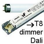 Balastos T8 dimmer Dali