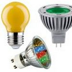 Bombillas led colores
