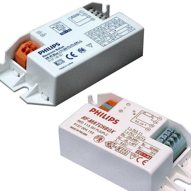 Balastos electronicos miniatura para  pequeñas potencias