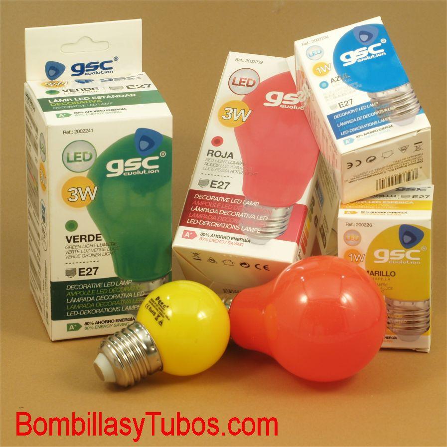 Bombillas de led de colores para Guirnaldas de luces en fiestas y eventos