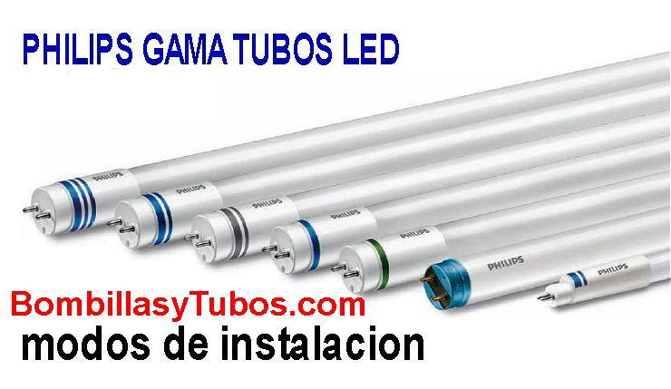 Esquema Tubo Led , como sustituir un tubo fluorescente y trucos