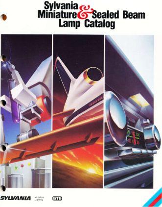 catalogo de lamparas miniatura Sylvania Usa 1984
