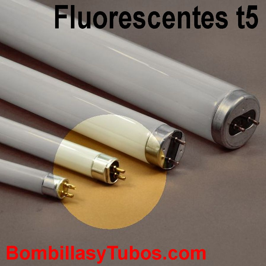 Medidas de los tubos fluorescentes T5