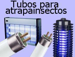 Tubos fluorescentes para atrapainsectos