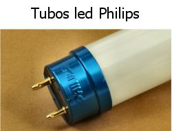 Tubos fluorescentes led philips
