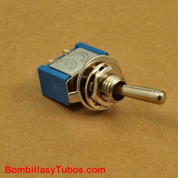 Interruptor empotrable palanca 6A
