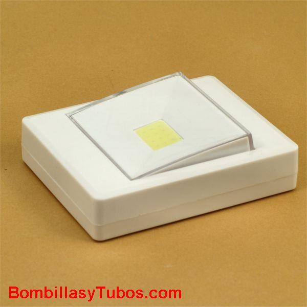 Luz portatil para armario o mesita forma interruptor