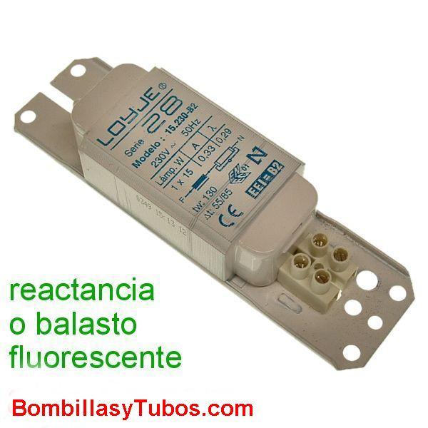 REACTANCIA 230v 15W ELECTROMAGNETICA - REACTANCIA ELECTROMAGNETICA 15W  230V 15W