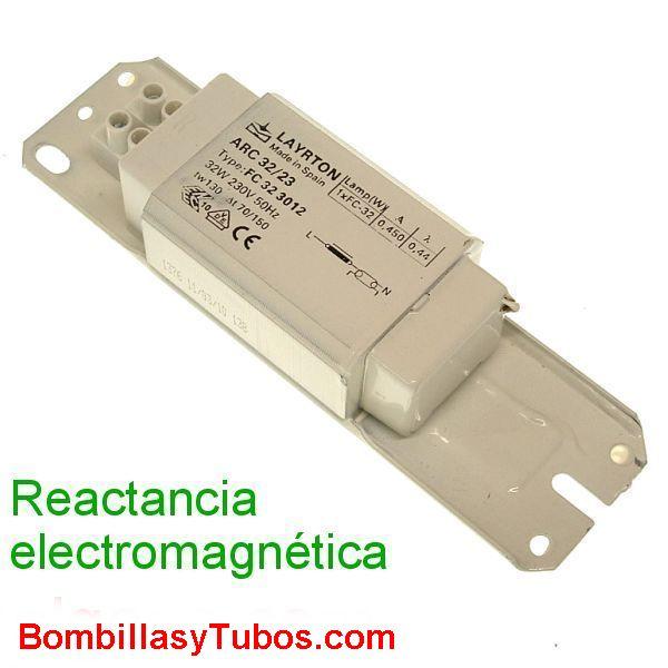 REACTANCIA fluorescente 230v 30w-32w ELECTROMAGNETICA - REACTANCIA ELECTROMAGNETICA 30w-32w-  230V 30w-32w