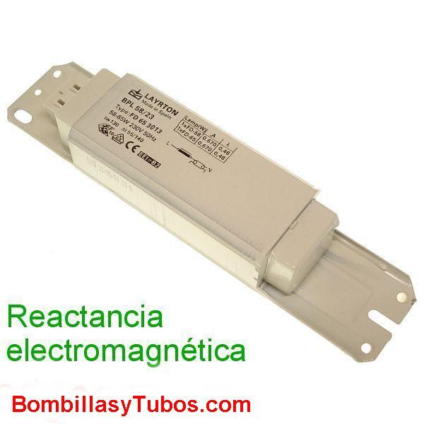 REACTANCIA 230v 58w-65W ELECTROMAGNETICA - REACTANCIA ELECTROMAGNETICA 58w-65W  230V 58w-65w