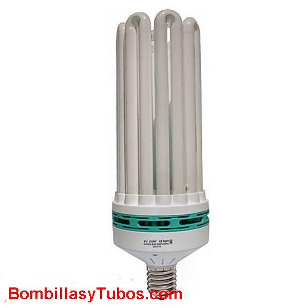 Lampara BAJO CONSUMO ESPIRAL 230v 200w E40 6400k - Lampara  BAJO CONSUMO 200W  E40  6400k