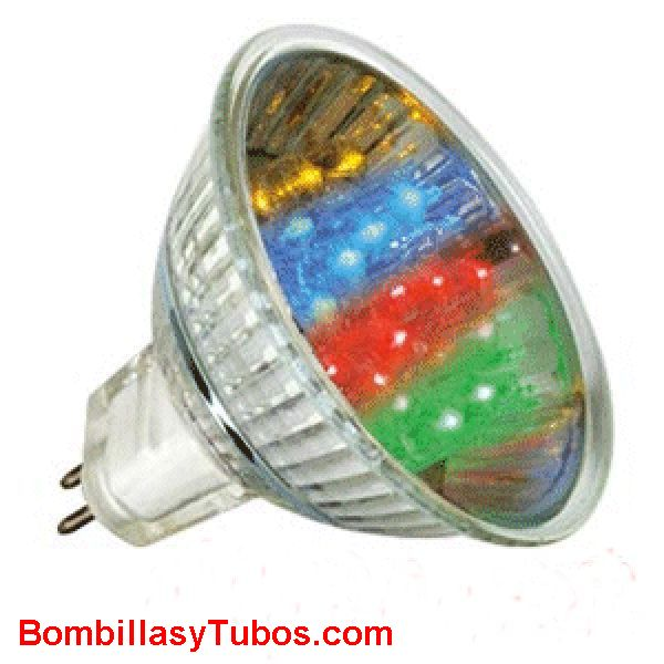 LED HALO 12v 1w MULTICOLOR - LED HALO 12v 1w MULTICOLOR  Cambia de color continuamente