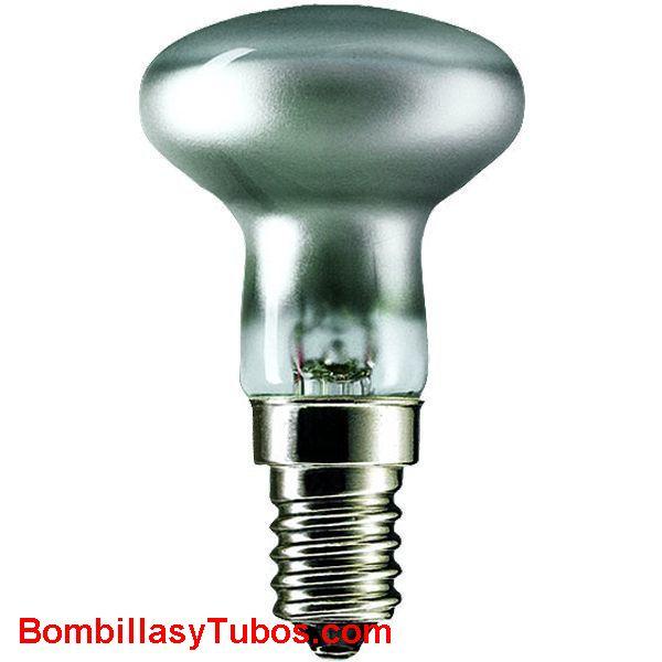 Bombilla Reflectora R50 e14 clara 230v 25w - Lampara incandescente reflectora 50mm e14 230v 25w