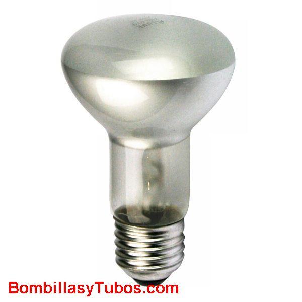 Bombilla R63 e27 230v 40w - lampara incandescente reflectora 63mm e27 230v 40w