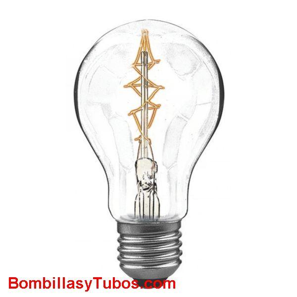 Bombilla filamento RUSTICA ZIG-ZAG 230v 60w - Bombilla STANDARD RUSTICA ZIG-ZAG 230v 60w