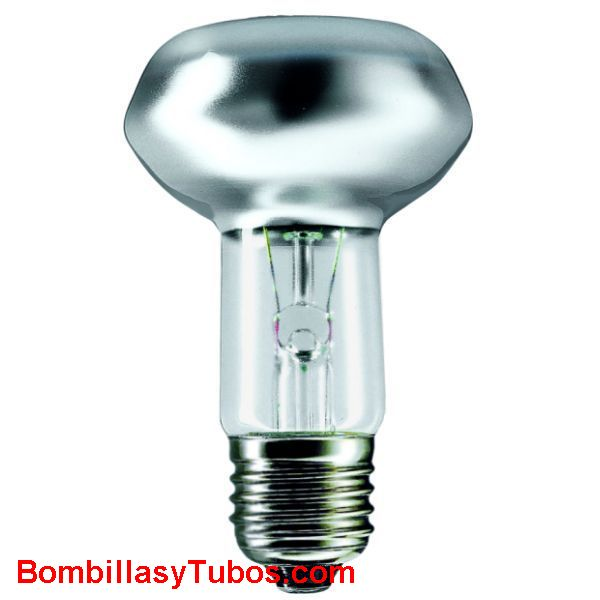 Bombilla reflectora S63 e27 230v 60w - reflectora spot 63mm e27 230v 60w
