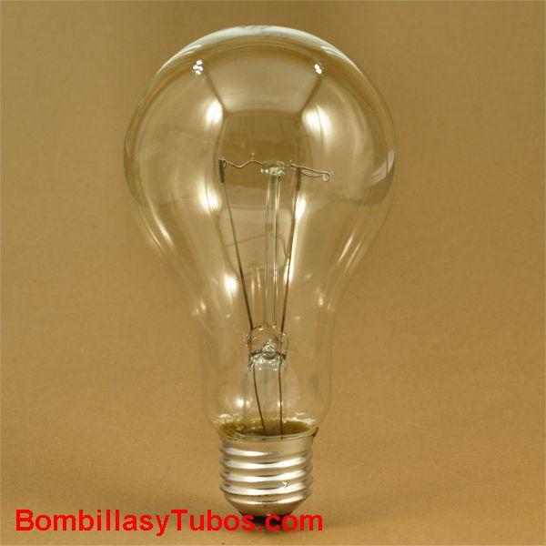 Bombilla ESTANDAR CLARA E27 230v 200w