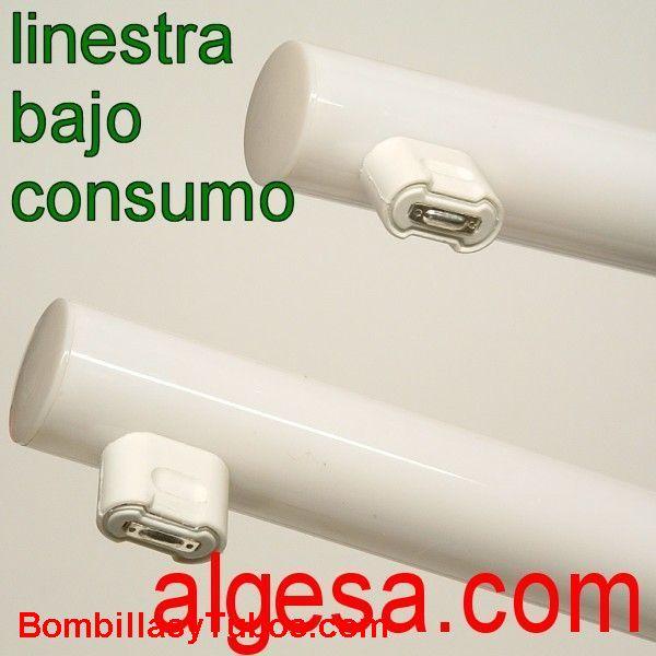 LINESTRA fluorescente 8w 2 CASQUILLO - LINESTRA BAJO CONSUMO  8w  2 CASQUILLO  2700k  base: s14