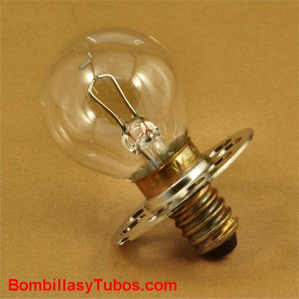 Bombilla 6v 4,5A P44s . Fischer 00843096