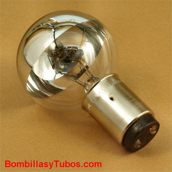 Bombilla quirofano espejada 220v 50w BX22d. Fischer 00936007