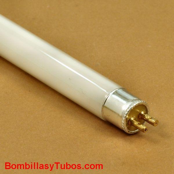 Fluorescente t4 8w 5000k 34cm - Tubo fluorescente t4 8w 5000k luz fria . 326/341mm