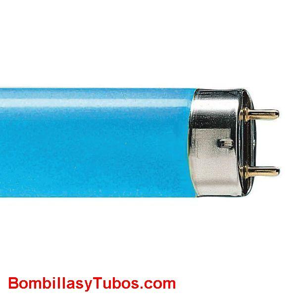 FLUORESCENTE T8 36w/67 AZUL - FLUORESCENTE 36W/67 AZUL  base g13   medidas:26x1200mm  referencias:L 36/67. tl-d 36w/18  72754140, 36w azul, 0002567