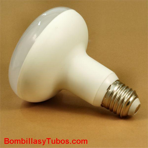 Bombilla GSC led reflectora R90 230v 12w 2700k - Lampara de led reflectora R90 230v 12w -75w 2700k luz calida