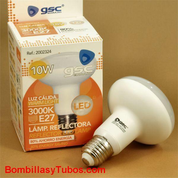 GSC Lampara led reflectora R80 230v 10w 2700k