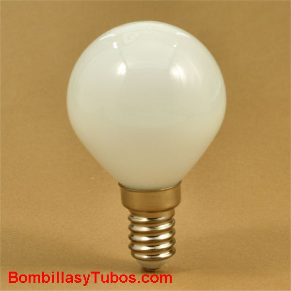 GSC bombilla led esferica cristal 230v 4w e14 6000k 320 lumenes