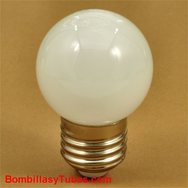 gsc bombilla led esferica cristal 230v 5w e27  6000k 400 lumenes
