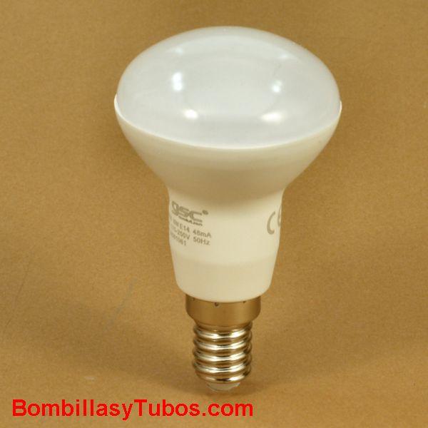 GSC bombilla led R50 e14 230v 6w 6000k 470 lumenes