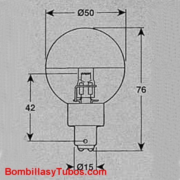 GUERRA 0178-FH 24v 35W BA15D