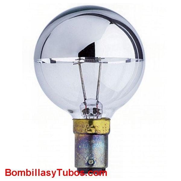 GUERRA 0277/4 24v 40w BA15D - Lampara Guerra de filamento puntual y cupula espejada