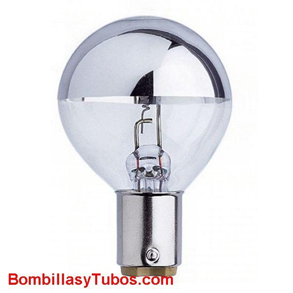 GUERRA 0376/H 24v 20w BA15D - Lampara Guerra de filamento puntual y cupula espejada