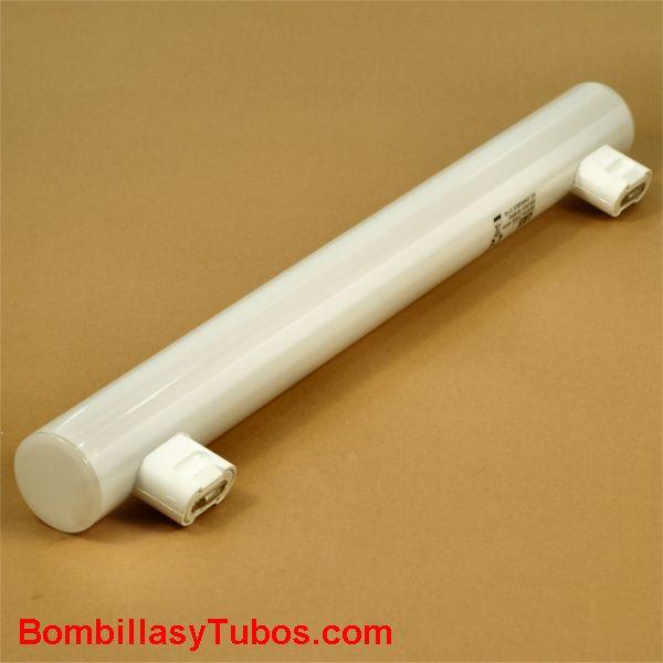 Lampara Linestra led 30 cm 2C 230v 5w 2700k - Lampara de led sustituta de las incandescentes linestras de 2casquillo 30cm . 5w luz 2700k