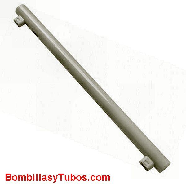 Lampara Linestra led 100 cm 2C 230v 16w 2700k - Lampara de led sustituta de las incandescentes linestras. 16w 100cm 2c 2700k luz extra calida