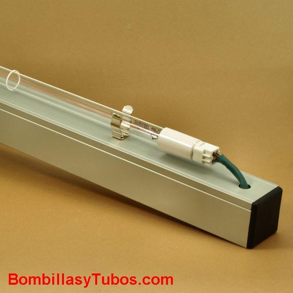 Kit regleta + tubo UVC 40w  90cm