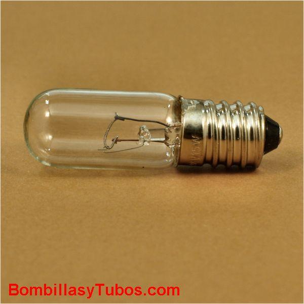 Bombilla incandescente TUBULAR 16X54 E14 12V 15W - Bombilla tubular incandescente 16x54  E14 12V 15W