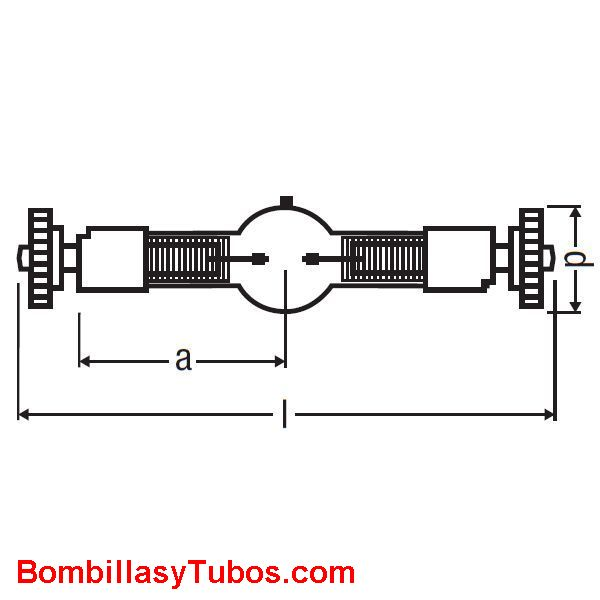 BABY SHARXS HTI 575W/D5/56 - BABY SHARXS HTI 575W/D5/56  potencia:575w  base:SFc10-4