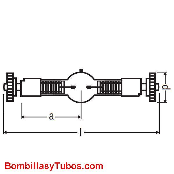SHARXS HTI 1200W/D7/60 - SHARXS HTI 1200W/D7/60  potencia:1200w  base:SFc10-4