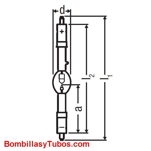 XBO 1600W XL OFR - XBO 1600W/ XL OFR  potencia: 1600w  base: + SFa27-12  - SFa27-12