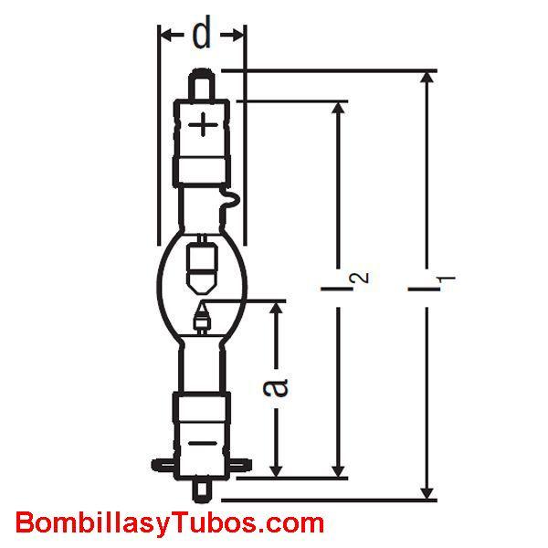 XBO 1600W HS XL OFR - XBO 1600W/HS XL OFR  potencia: 1600w  base: + SFA27-11  - SFc27-11