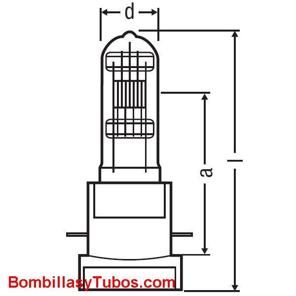 Osram lok-it 1200w 80v /32 /p50 - Lampara Osram lok-it 1200w 80v /32 /p50