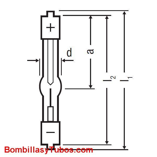 XBO 100W OFR - XBO 100W/OFR2  potencia: 100w  base: + SFa9-2 - SFa7.5-2