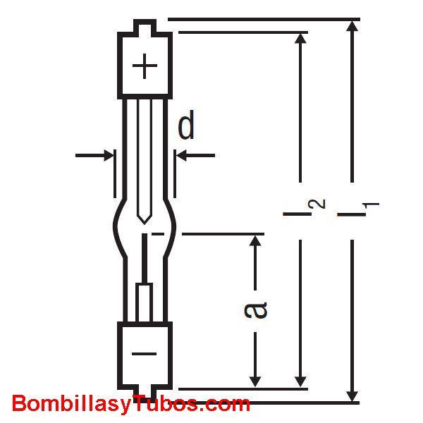 XBO 75W 2 - XBO 75W/2 OFR potencia: 75w  base: + SFa9-2 - SFa7.5-2