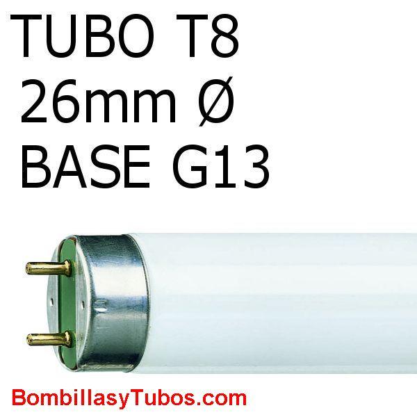 FLUORESCENTE T8 36w 827 1m - Fluorescente 36w 827 1 metro