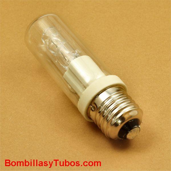 Bombilla Halogena E27 tubular 230v 100w